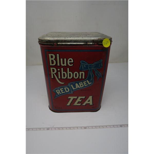 Blue Ribbon Red Label Tea Tin Large