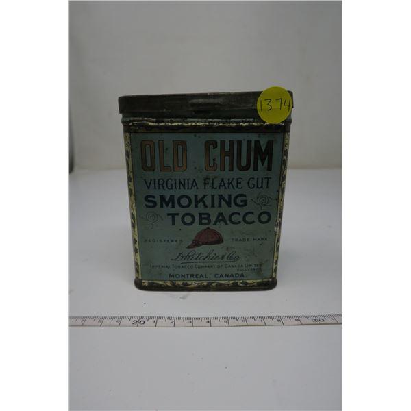 Tobacco Tin Old Chum