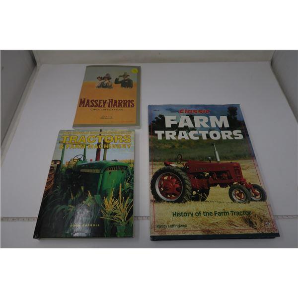 Farm Tractor Books X 3