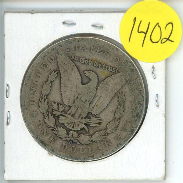 1891O US Morgan Dollar