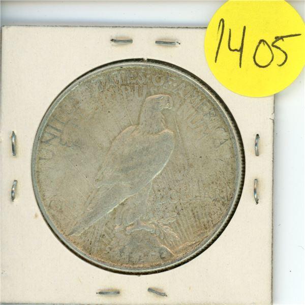 1922 US Piece Dollar