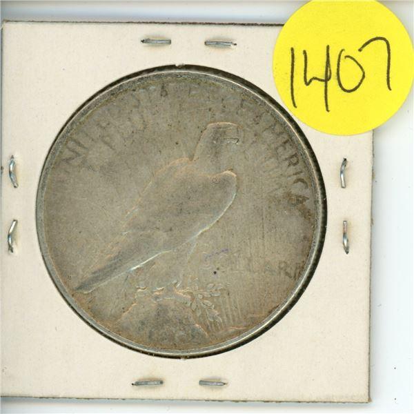 1922D US Piece Dollar