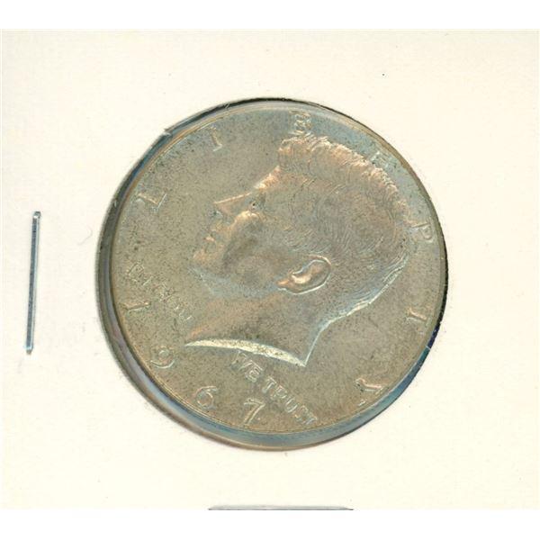 1967 USA Half Dollar