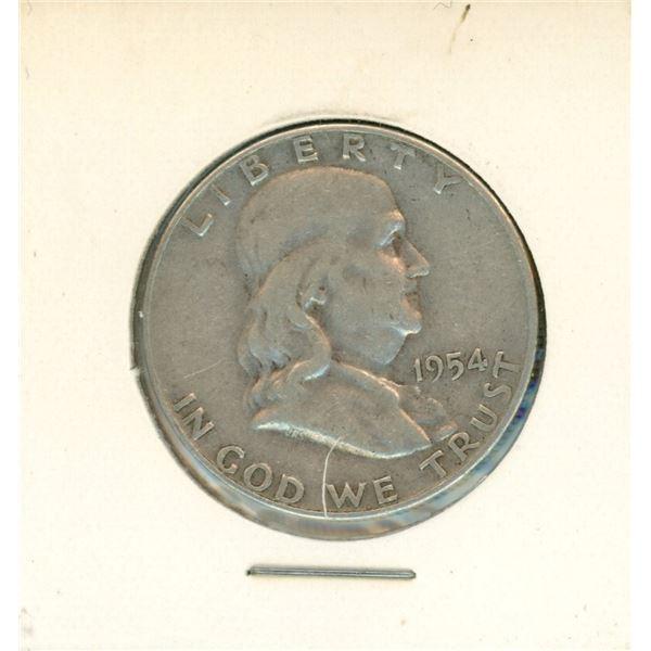 1954 USA Half Dollar