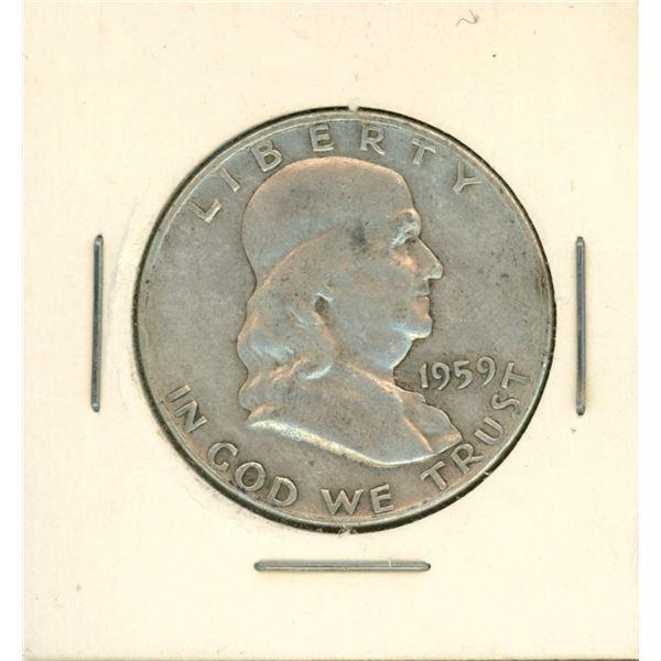 1959 USA Half Dollar