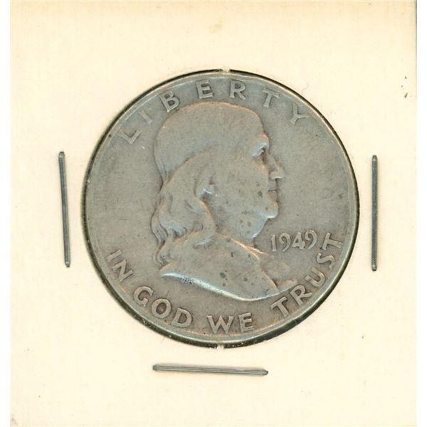 1949 USA Half Dollar