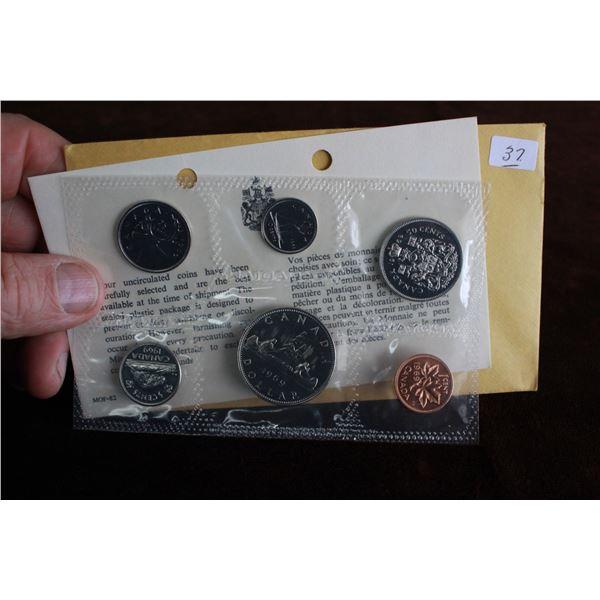Canada Coin Set - 1969 (6 coins) - BU