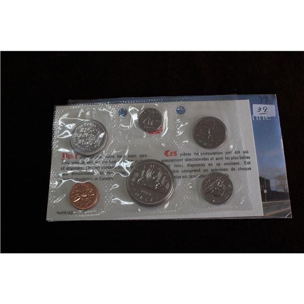 Canada Coin Set - 1977 (6 coins) - BU