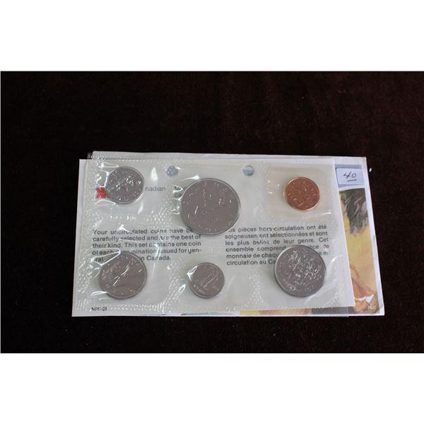 Canada Coin Set - 1981 (6 coins) - BU