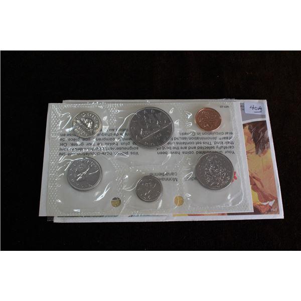 Canada Coin Set - 1982 (6 coins) - BU