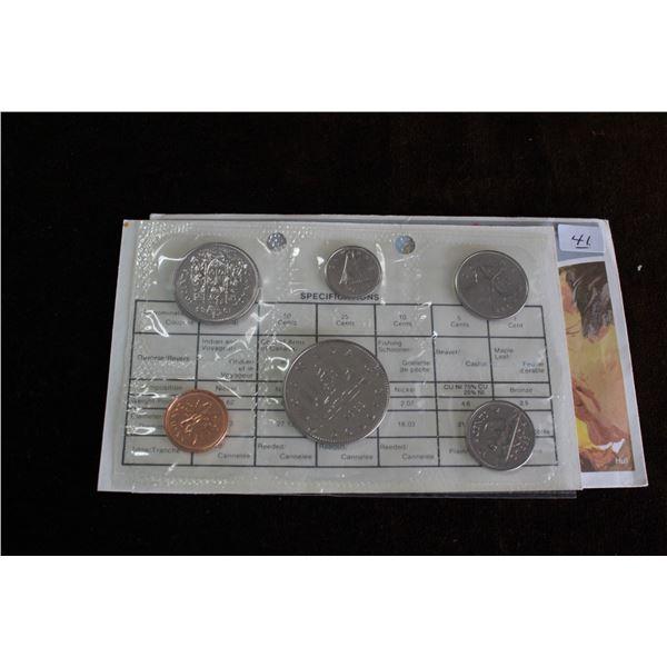 Canada Coin Set - 1983 (6 coins) - BU