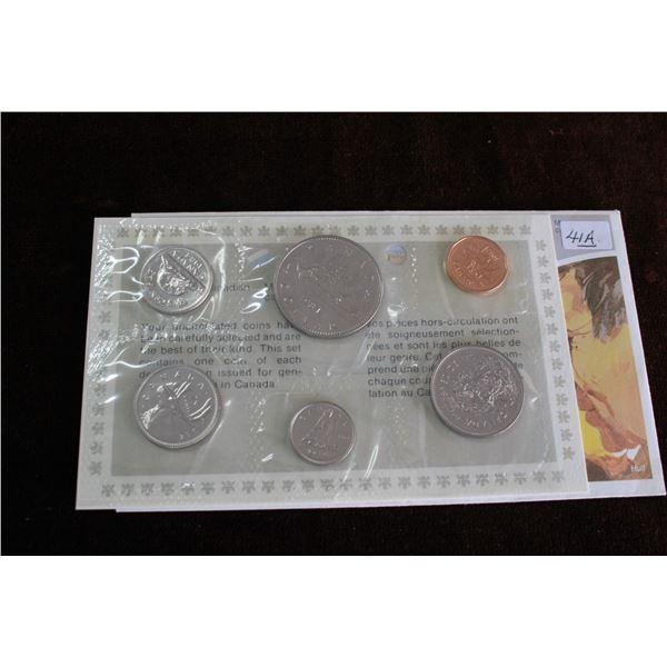 Canada Coin Set - 1984 (6 coins) - BU