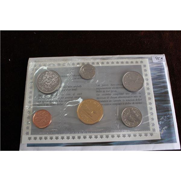 Canada Coin Set - 1988 (6 coins); BU