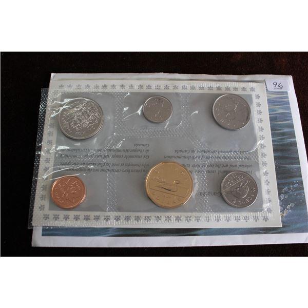 Canada Coin Set - 1989 (6 coins); BU