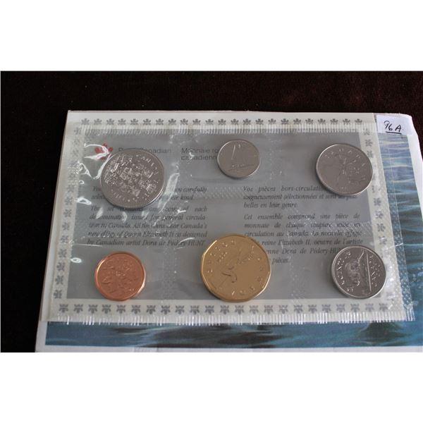 Canada Coin Set - 1990 (6 coins); BU