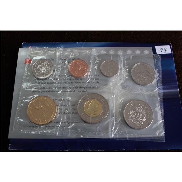 Canada Coin Set - 1999 (7 coins); BU
