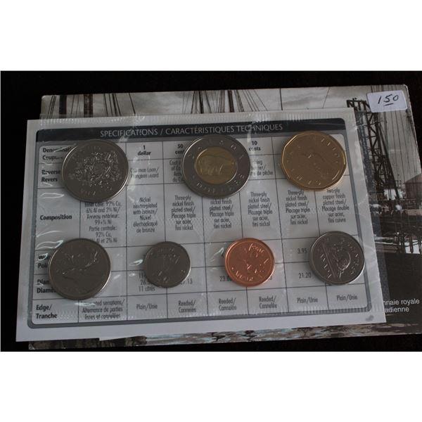 Canada Coin Set - 1952 to 2002P (7 coins); BU