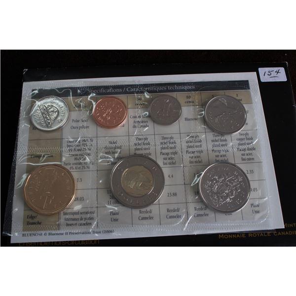 Canada Coin Set - 2006P (1996-2006) 7 coins; BU