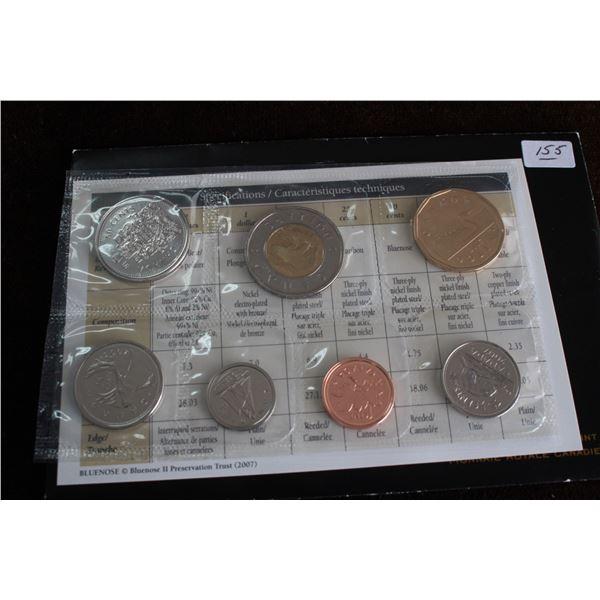 Canada Coin Set - 2007 (7 coins); BU
