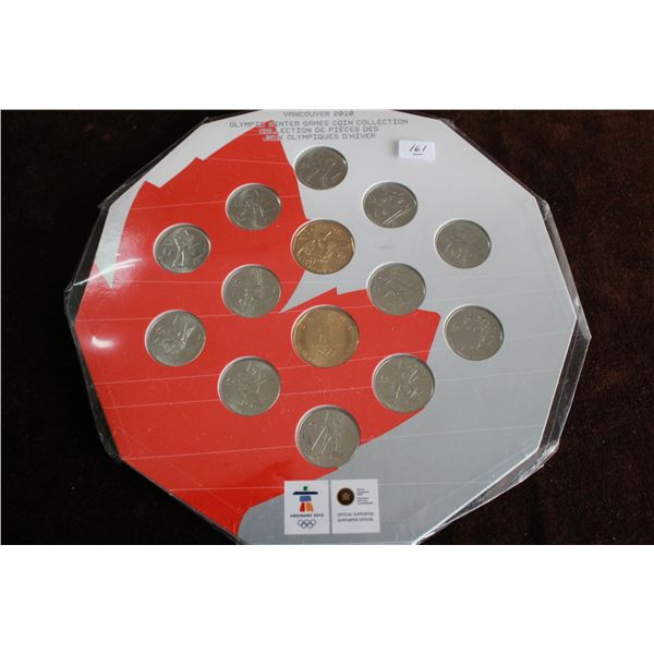 Canada Twenty-five Cent Coins (14) - 2010 & 2 Loonies