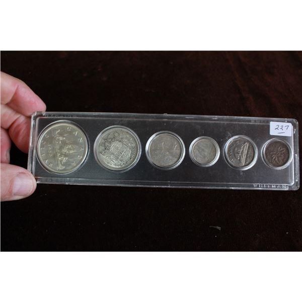 Canada Coin Set - 1955, Silver