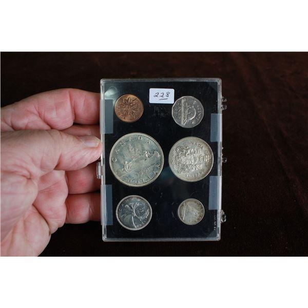 Canada Coin Set - 1961, Silver