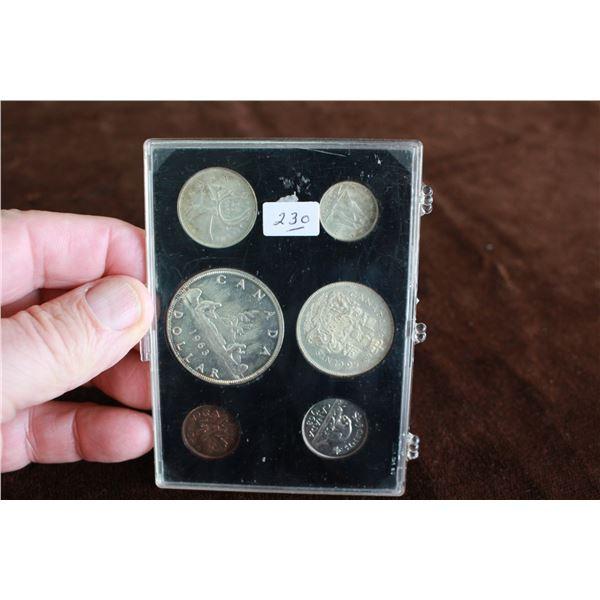Canada Coin Set - 1963, Silver