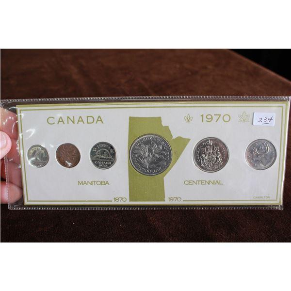 Canada Coin Set - 1970