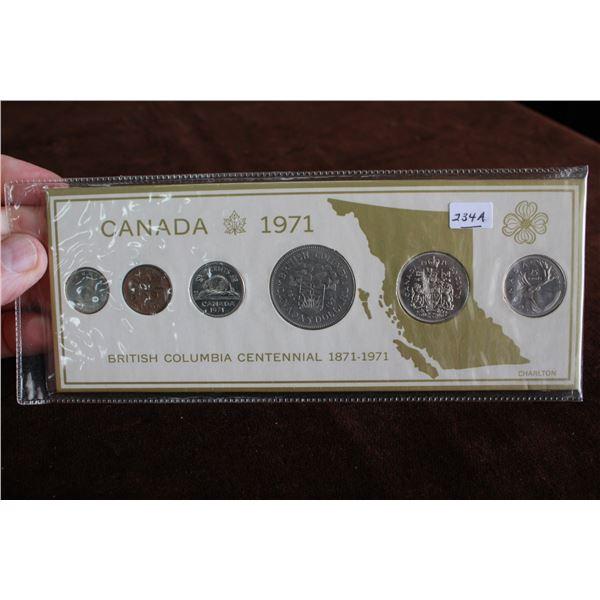 Canada Coin Set - 1971