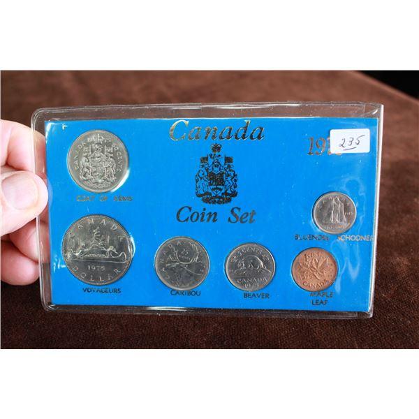 Canada Coin Set - 1975