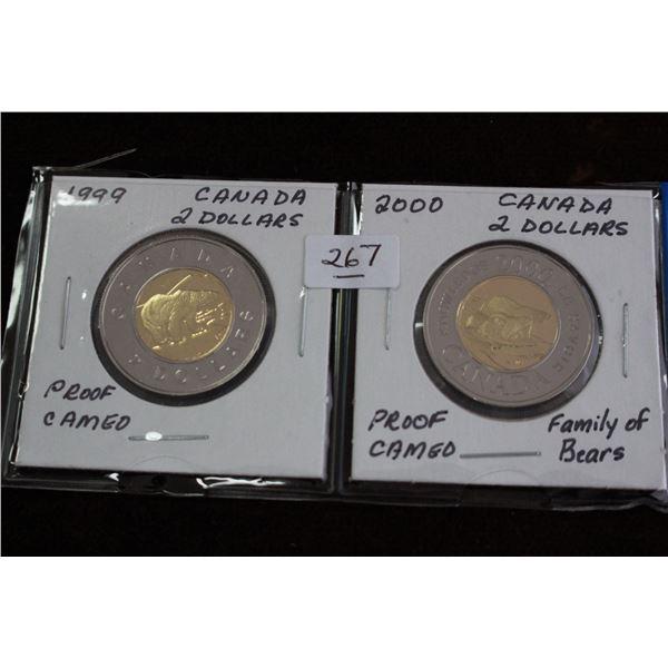 Canada Two Dollar Coins (2)