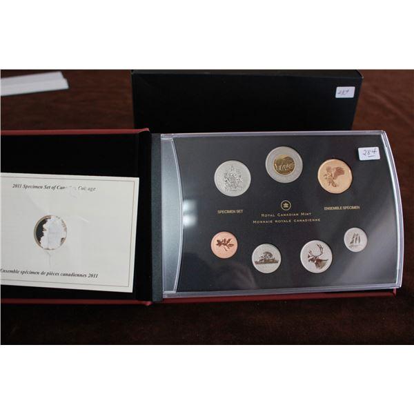 Canada Specimen Coin Set - 2011