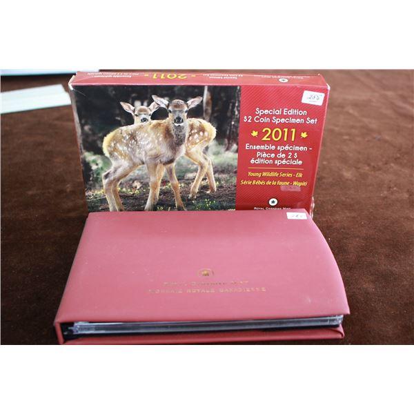 Canada Specimen Coin Set - 2011; Special Edition 'Elk'