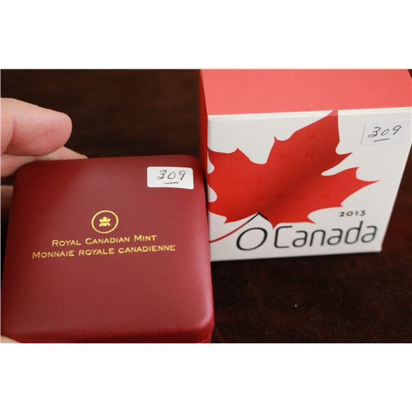 Canada Twenty-five Dollar Coin - 2013; .999 Fine Silver *No GST