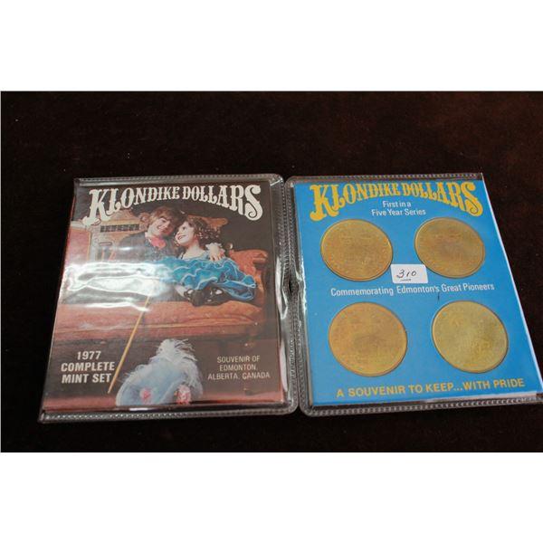 Klondike Dollars - 1977 & 1978 - 2 Complete Mint Sets