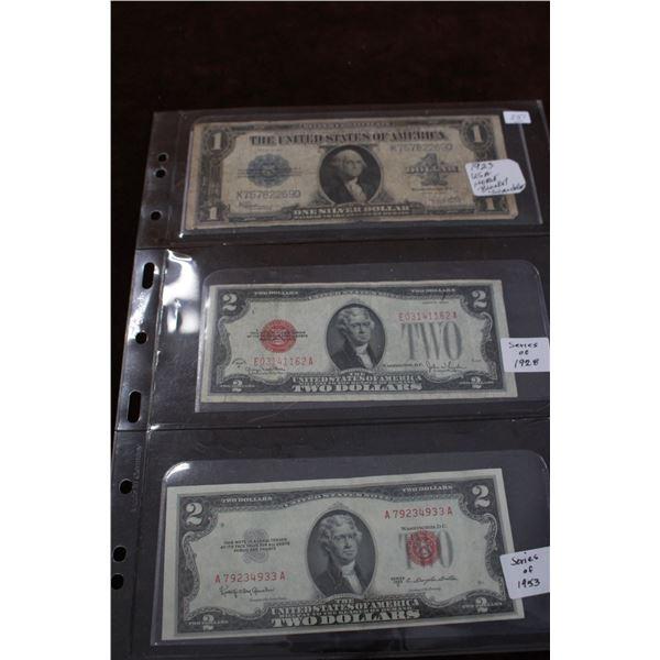 U.S.A. Paper Money
