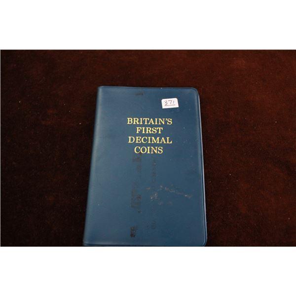 Great Britain First Decimal Coins Set