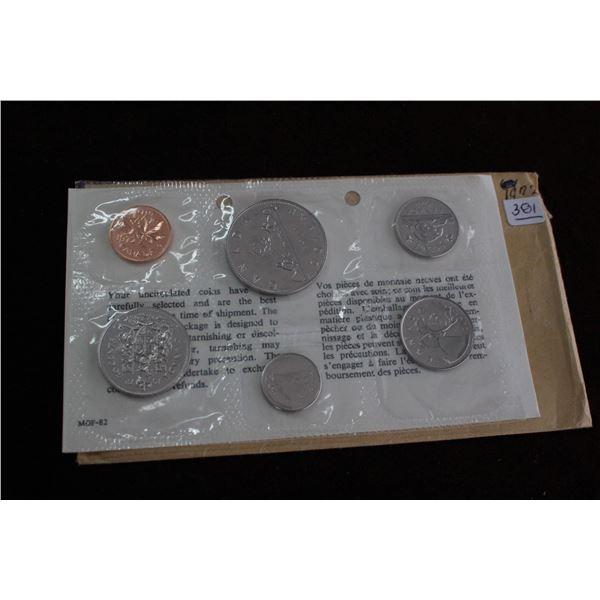 Canada Proof Mint Set - 1972