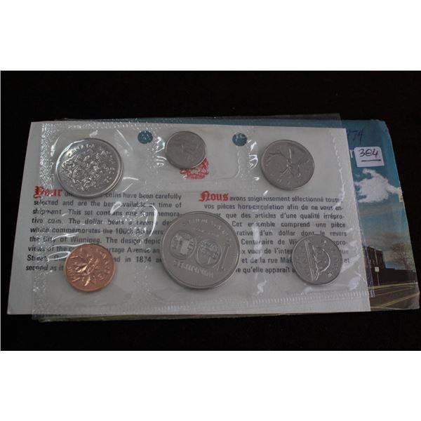 Canada Proof Mint Set - 1974