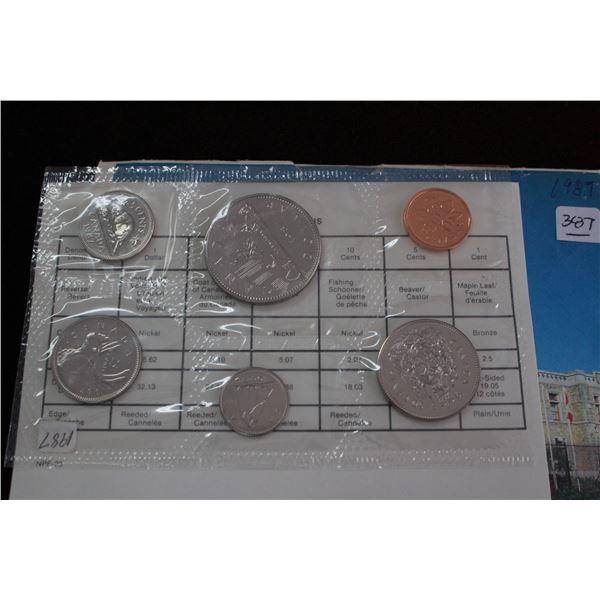 Canada Proof Mint Set - 1987
