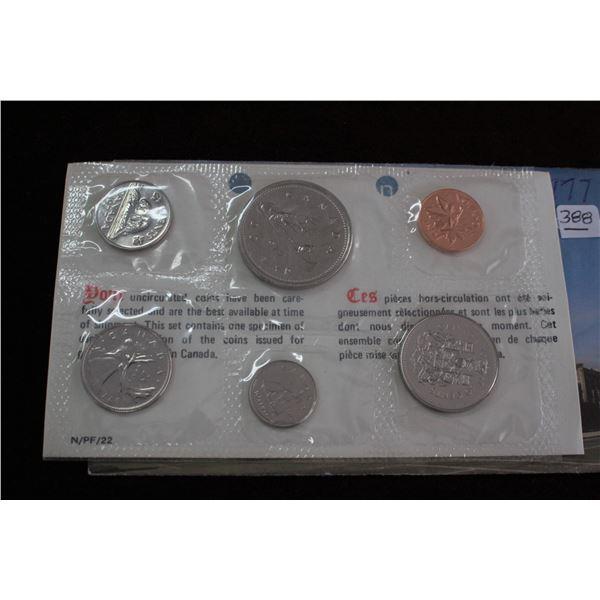 Canada Proof Mint Set - 1977
