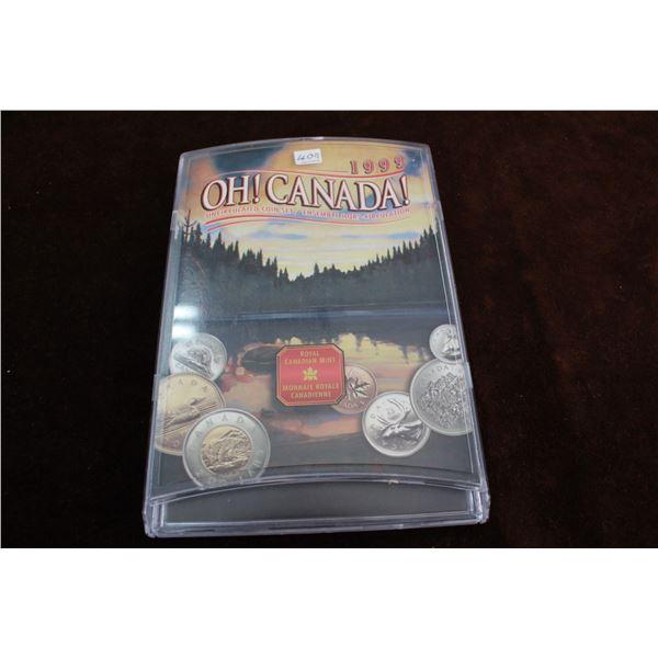 Canada Coin Set - 1999