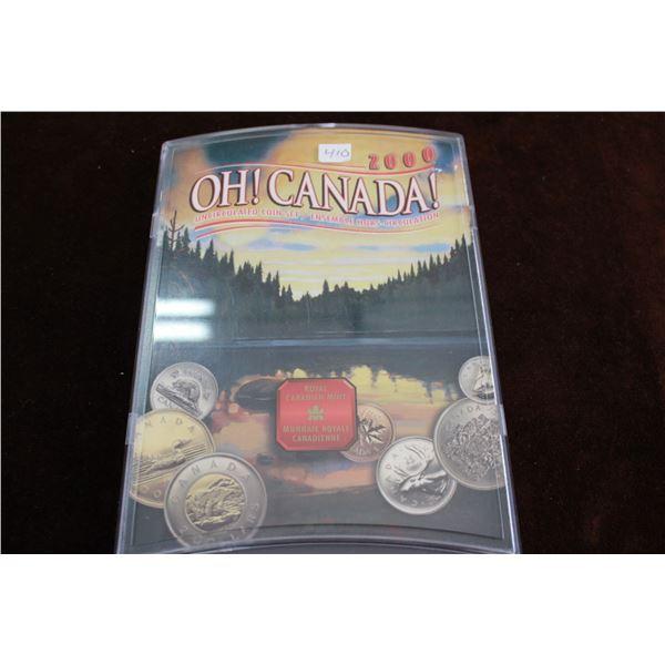 Canada Coin Set - 2000