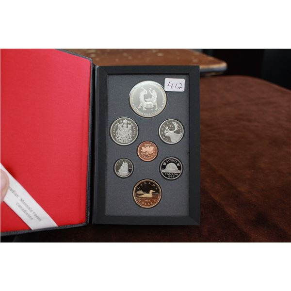 Canada Double Dollar Mint Coin Set - 1988