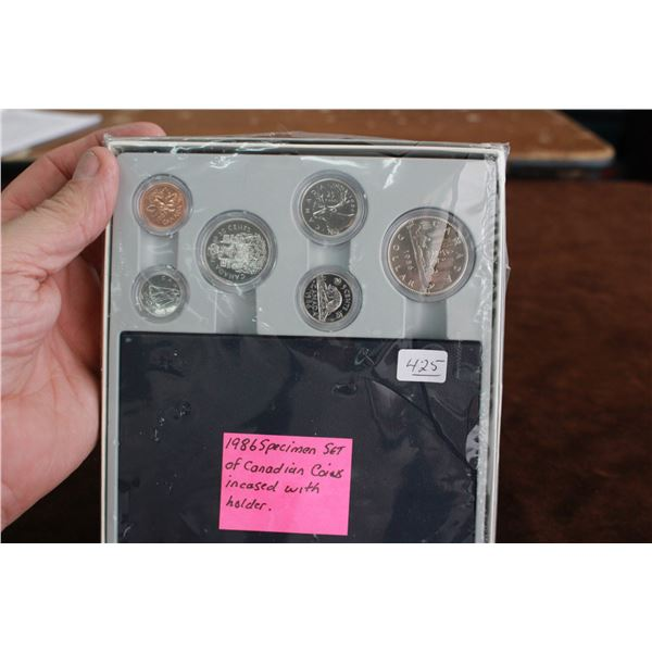 Canada Specimen Coin Set - 1986