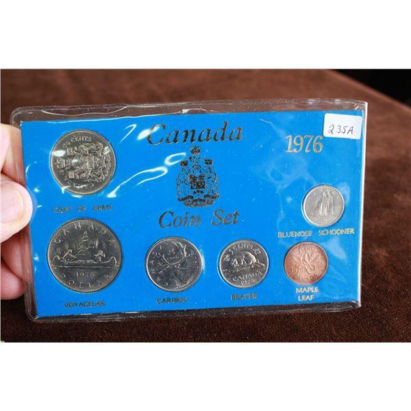 Canada Coin Set - 1976