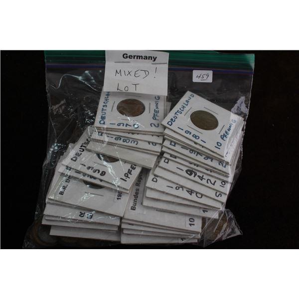 German Coins - Mixed Lot