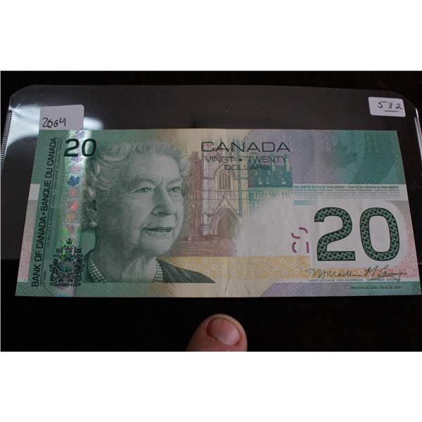 Canada Twenty Dollar bill - 2004
