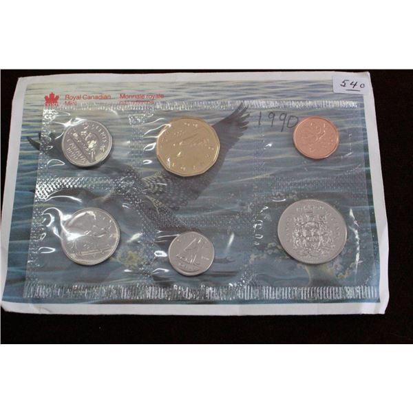 Canada Coin Set - 1990