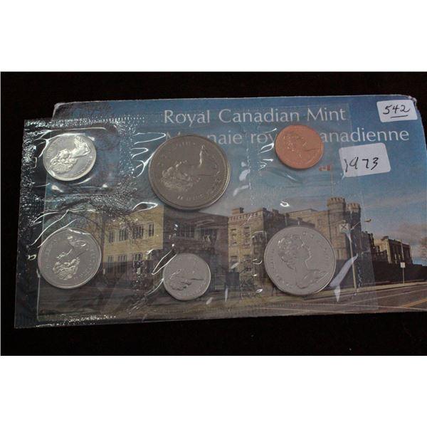 Canada Coin Set - 1973